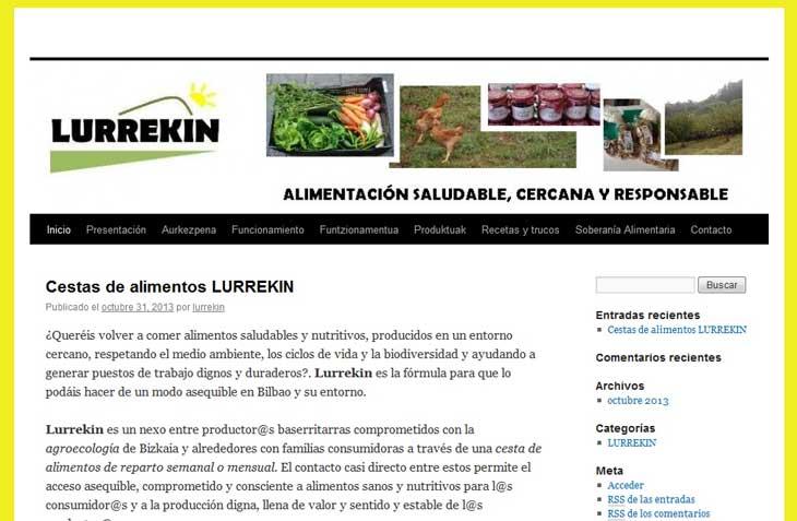 Cestas ecológicas en Bilbao